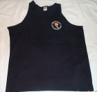 Black Tank w/Pocket Badge Logo