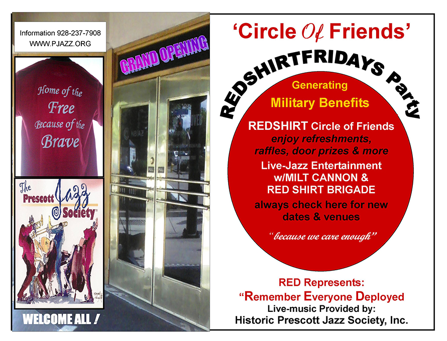 red shirt fridays circle of friends