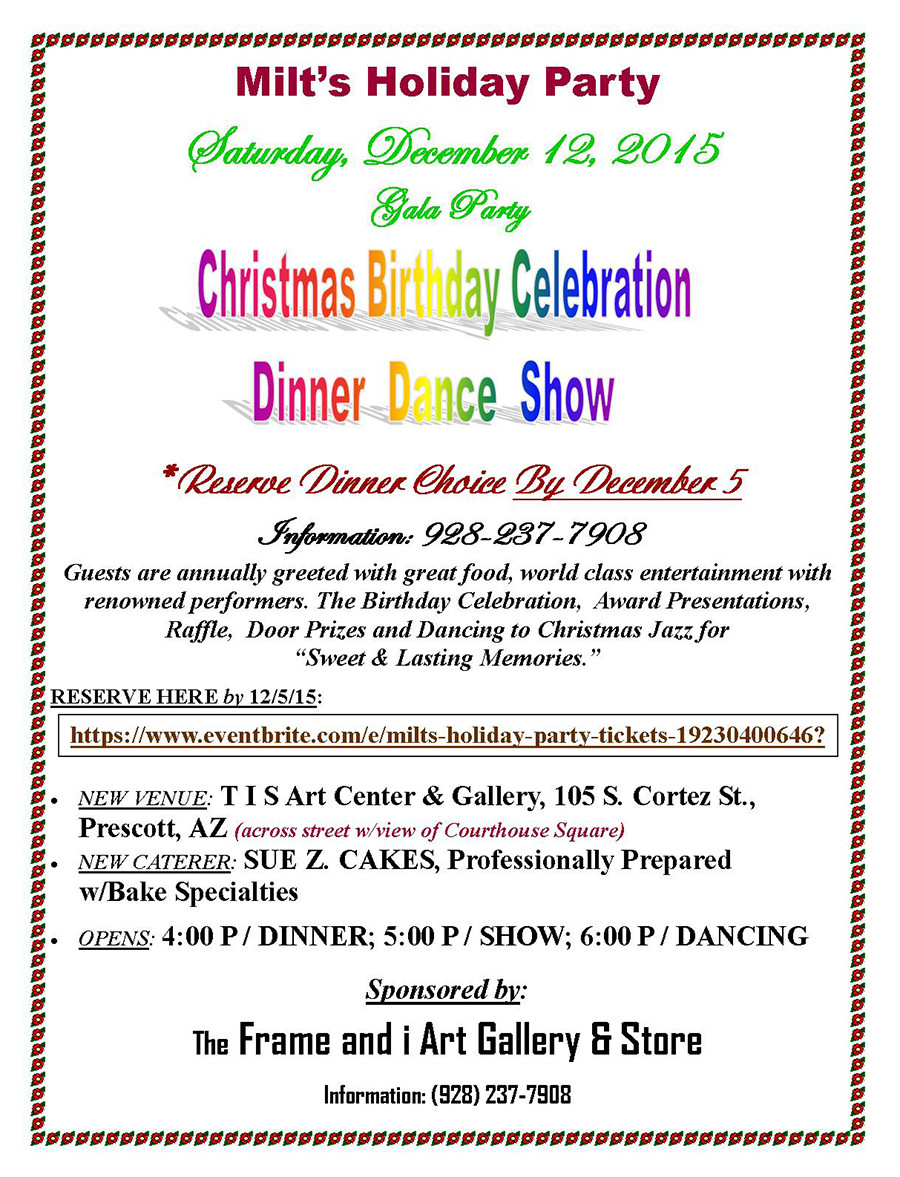 Pjazz Milt Holiday Party 2015