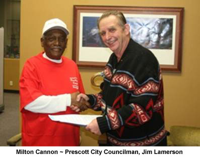 Red Shirt Proclamation Milt Mayor